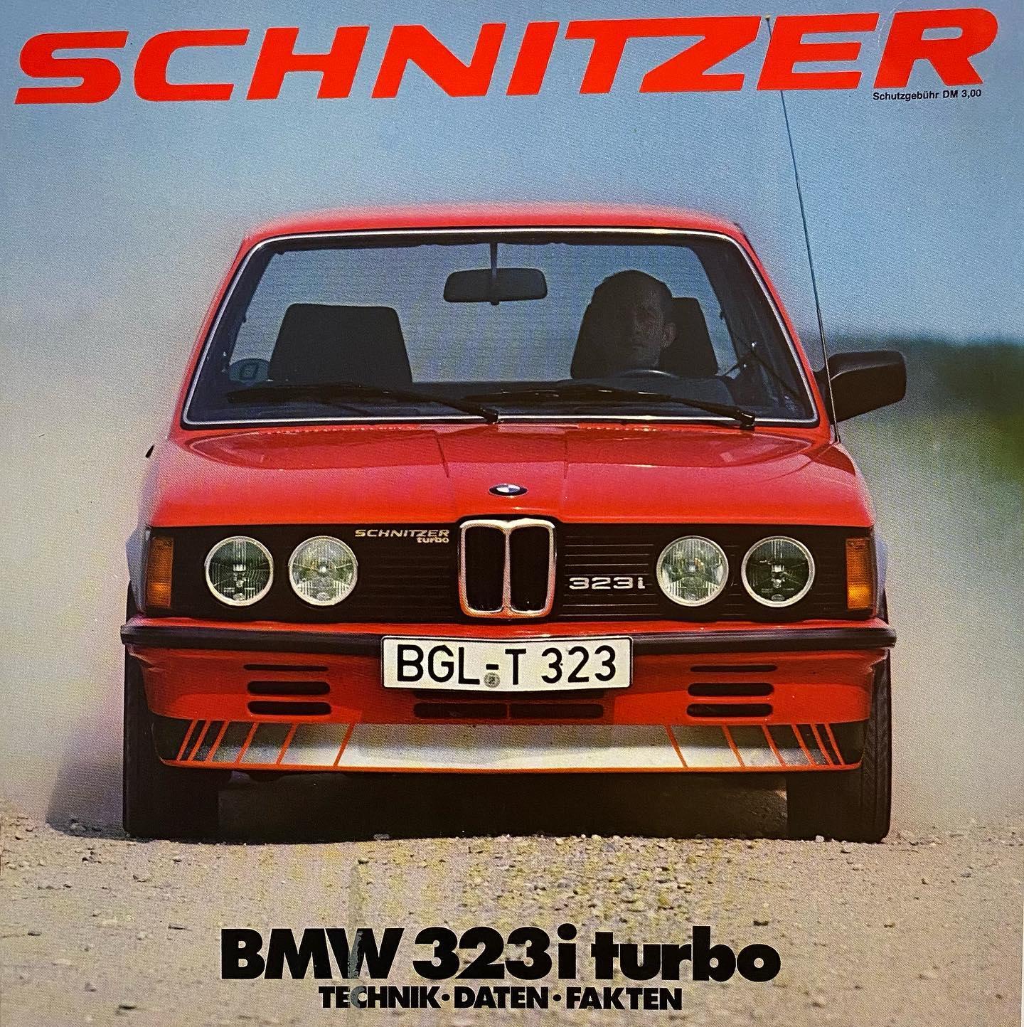 1981 E21 Schnitzer 323i Turbo