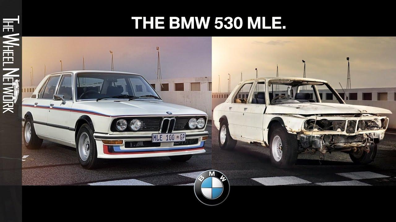 Restoration BMW 530 Motorsport Limited Edition (MLE)