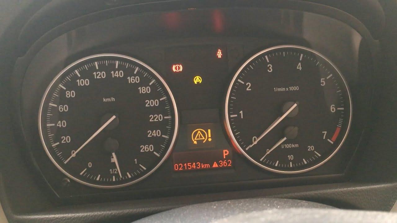 BMW E90 DTC LIGHT