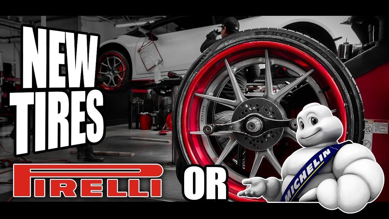 Λάστιχα? Michelin VS Pirelli VS GoodYear